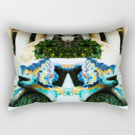 Eldragonfly Barcelona design of  Park Güell  Rectangular Pillow