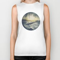 rowing Biker Tanks featuring Winter you winter me by HappyMelvin