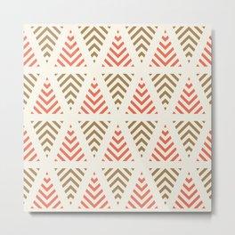 Winter Hoidays Pattern #3 Metal Print