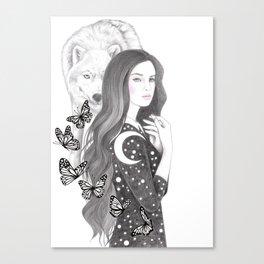 Moon Magic Canvas Print