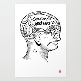 · Phrenology ·  Art Print