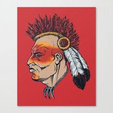 Urban Warrior Canvas Print