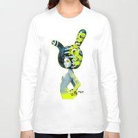 bunny Long Sleeve T-shirts featuring bunny by el brujo