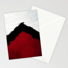 BLOOD RED RIBBON Stationery Cards
