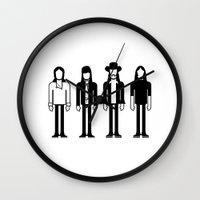 floyd Wall Clocks featuring Pink Floyd by Band Land