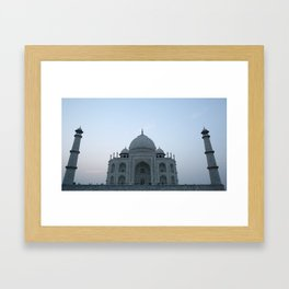 Taj Mahal at Sunset #2 Framed Art Print
