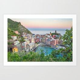 Cinque Terre, Italy Art Print