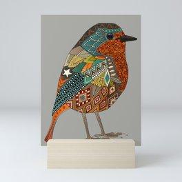 robin granite Mini Art Print