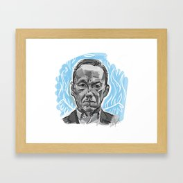 Francis Framed Art Print
