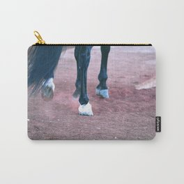 Hoof Beats Carry-All Pouch