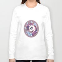 my little pony Long Sleeve T-shirts featuring My Little Pony: Rarity by Zelbunnii