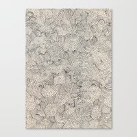 infinite Canvas Prints featuring Infinite Love by Marcelo Romero