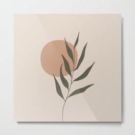 little Twig #minimalistic #digitalart Metal Print
