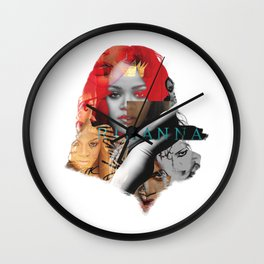 Rihanna Wall Clock