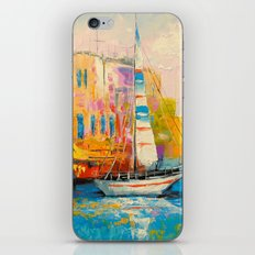 Quiet Harbor iPhone & iPod Skin