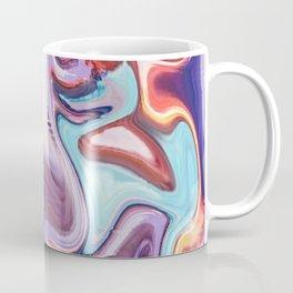 pixel glitch marble Coffee Mug