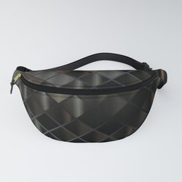 Glass Square 2 Fanny Pack