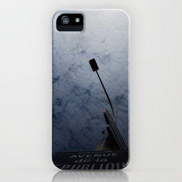 Avenue de la Republique iPhone Case