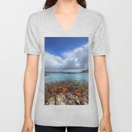 Rodel, Isle of Harris Unisex V-Neck