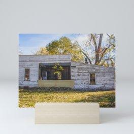 Old Grocery Store, Huff, North Dakota 4 Mini Art Print