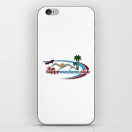 The Happy Wanderer Club iPhone Skin