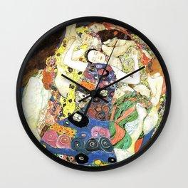 Gustav Klimt The Maiden Wall Clock