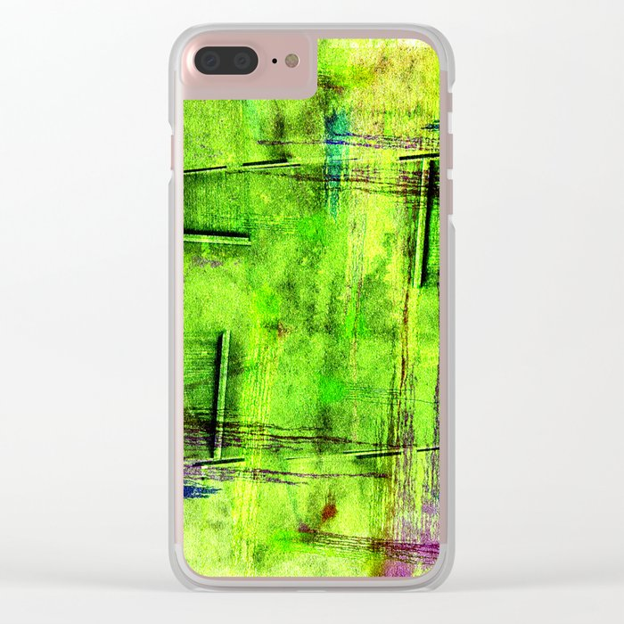 Fools Hands in the shades of the year 2017 Clear iPhone Case