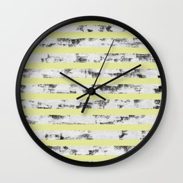 LIA STRIPE PATTERN Wall Clock
