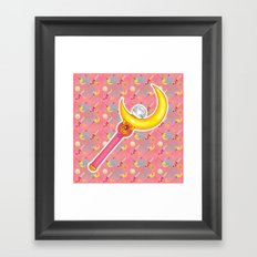 On Wednesdays We Wear Pink (& Fight Evil)  Framed Art Print