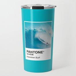 Pantone Series – Hawaiian Surf Travel Mug