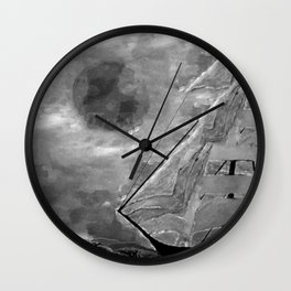 The Fate of Sir Charles Vane: Mutiny and the Cursed Lands Wall Clock