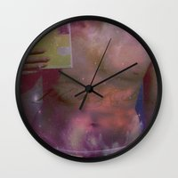 "the perks of being a wallflower Wall Clocks featuring ""Perks"" by Elizabeth Bolz"