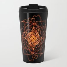 Fire Rose Travel Mug