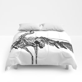 a marvelous creature Comforters