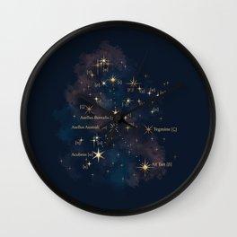 Cancer Constellation Wall Clock
