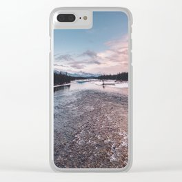 Icefields Parkway, AB IV Clear iPhone Case