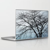 naked Laptop & iPad Skins featuring naked tree by RasaOm