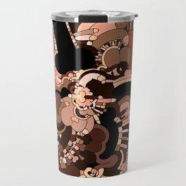 Dickdala #4 - Color Version Travel Mug