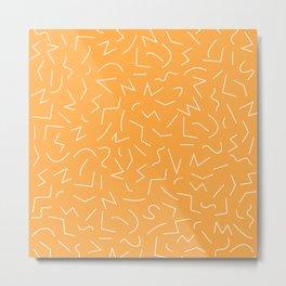 IZZY ((funky orange)) Metal Print