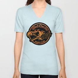 Black Chocobo Riders Club Unisex V-Neck