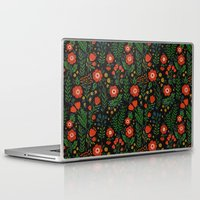 russian Laptop & iPad Skins featuring Russian flowers by A.Vogler