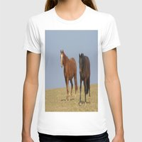 horses T-shirts featuring horses by Laake-Photos