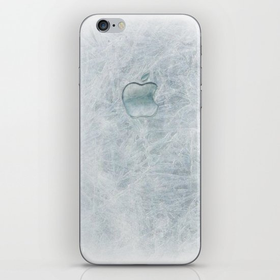FROZEN APPLE iPhone & iPod Skin