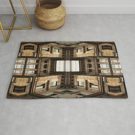 Architectural Labyrinth Rug