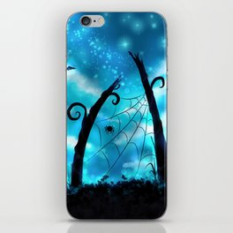 Spider's Enchanted Night iPhone Skin