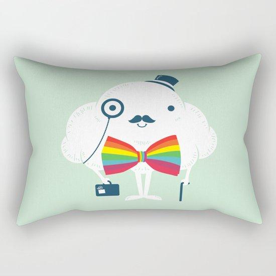Rainbow-tie gentleman Rectangular Pillow