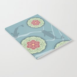 Koi Lotus Pond Notebook