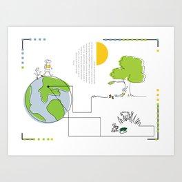 elgatoconbotas Art Print