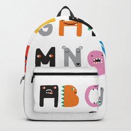 ABC The Monster Alphabet Backpack