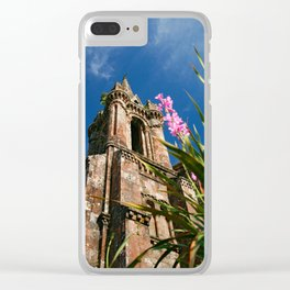 Gothic chapel Clear iPhone Case